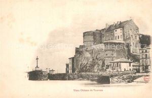 AK / Ansichtskarte Tournon sur Rhone Vieux Chateau Tournon sur Rhone