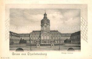 Charlottenburg Koenigliches Schloss Charlottenburg
