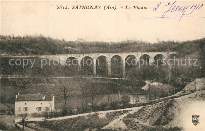 AK / Ansichtskarte Sathonay Camp Viaduc Sathonay Camp