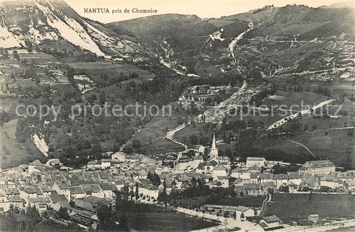 AK / Ansichtskarte Nantua Panorama vue prise de Chamoise Nantua