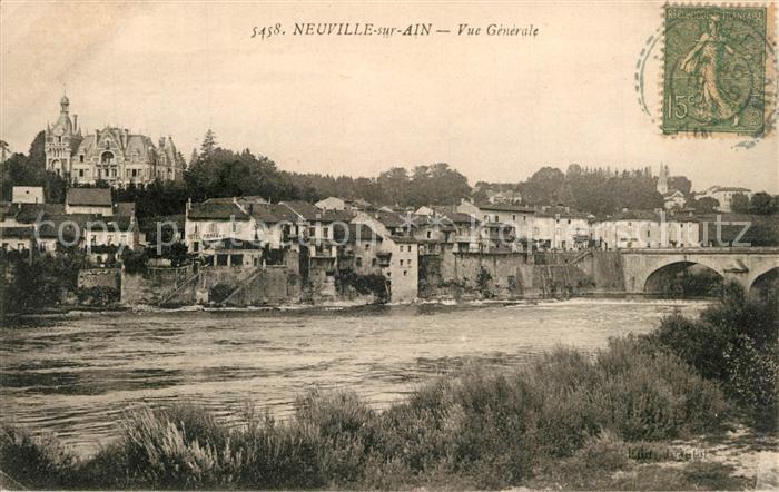 AK / Ansichtskarte Neuville sur Ain Aux bords de la riviere Neuville sur Ain