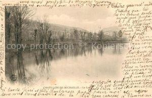 AK / Ansichtskarte Chatillon de Michaille Aux bords du Lac