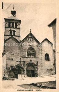 AK / Ansichtskarte Tournon sur Rhone Eglise Tournon sur Rhone
