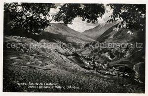AK / Ansichtskarte Le_Lautaret Route du Lautaret entre La Grave et Villard d Arene Le_Lautaret