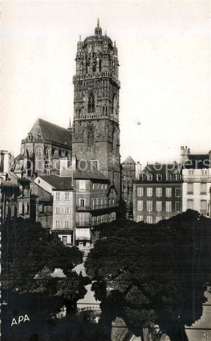 AK / Ansichtskarte Rodez Clocher de la Cathedrale Rodez
