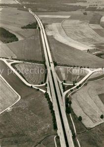 AK / Ansichtskarte Autobahn Autobahnkreuz Thiendorf Fliegeraufnahme