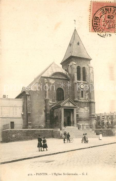 AK / Ansichtskarte Pantin Eglise Saint Germain Pantin