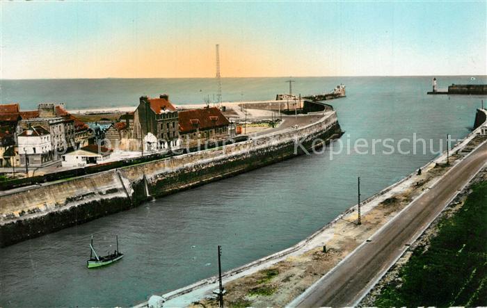 AK / Ansichtskarte Dieppe_Seine Maritime Entree du Port Dieppe Seine Maritime