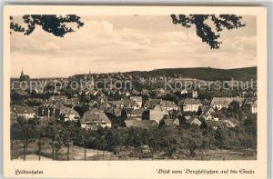 AK / Ansichtskarte Hildesheim Blick vom Berghoelzchen auf die Stadt Hildesheim