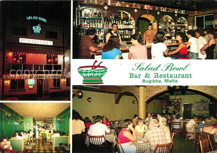 AK / Ansichtskarte Bugibba Salad Bowl Bar and Restaurant Bugibba