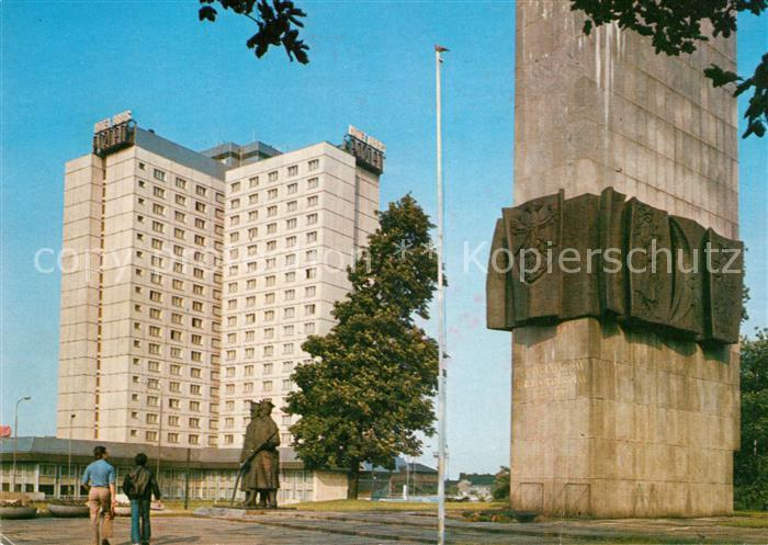 AK / Ansichtskarte Poznan_Posen Pomnik Powstancow Wielkopolskich Poznan Posen