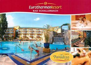 AK / Ansichtskarte Bad_Schallerbach Eurothermen Resort Pool Massage Bad_Schallerbach
