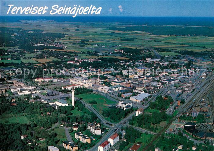 AK / Ansichtskarte Seinaejoelta Terveiset Fliegeraufnahme