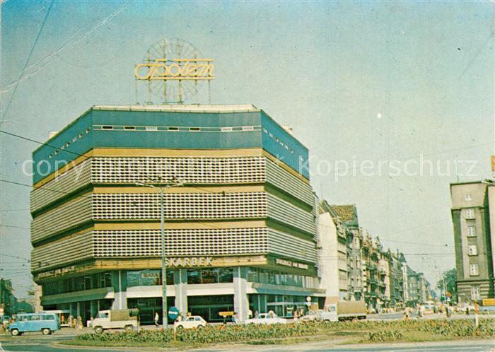 AK / Ansichtskarte Katowice Spoldzielczy Dom Handlowy Skarbek Katowice