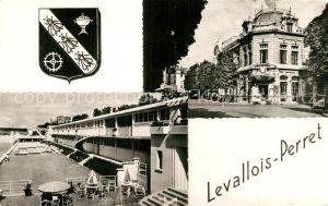 AK / Ansichtskarte Levallois Perret La Poste et la Piscine Levallois Perret