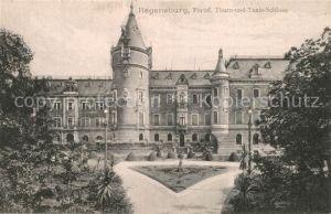 AK / Ansichtskarte Regensburg F?rstliches Thurn  und Taxis Schloss Regensburg