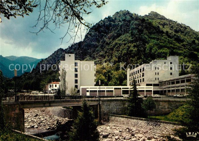 AK / Ansichtskarte Vernet les Bains Paradis des Pyrenees Etablissement Thermal et Les Sources Vernet les Bains