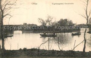 AK / Ansichtskarte Ohligs Engelsbergerhof Gondelteich Ohligs