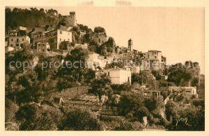 AK / Ansichtskarte Roquebrune Cap Martin Vue generale du village Roquebrune Cap Martin