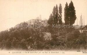 AK / Ansichtskarte La_Colle sur Loup Vue de Saint Paul pres du Pont de Saint Roch La_Colle sur Loup