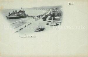 AK / Ansichtskarte Nice_Alpes_Maritimes Promenade des Anglais Cote d Azur Nice_Alpes_Maritimes