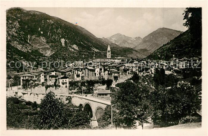 AK / Ansichtskarte Saint Martin Vesubie Vue generale Alpes Saint Martin Vesubie