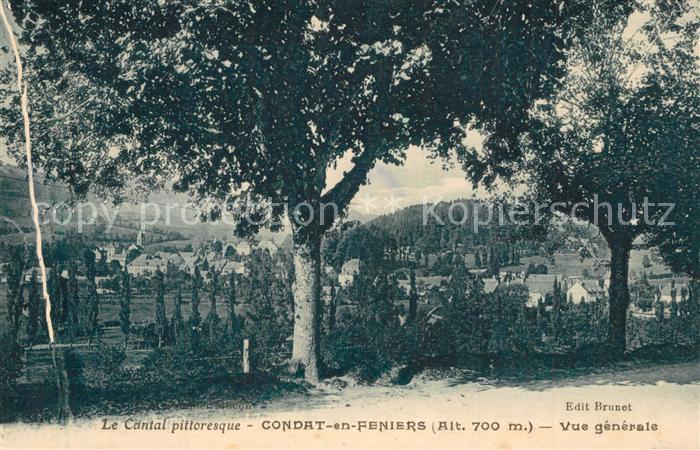 AK / Ansichtskarte Condat_en_Feniers Vue generale
