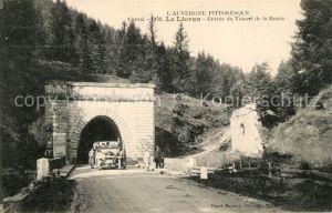 AK / Ansichtskarte Le_Lioran Entree du Tunnel de la Route Le_Lioran