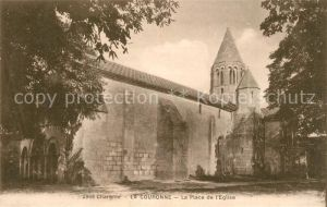 AK / Ansichtskarte La_Couronne_Charente La Place de l Eglise La_Couronne_Charente
