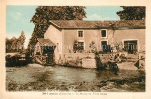 AK / Ansichtskarte Aunac Le Moulin du Vieux Aunac Aunac