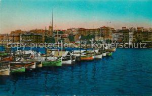 Marseille_Bouches du Rhone Le Quai du Port et Clocher des Accoules Marseille