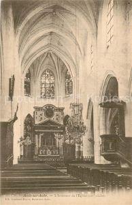 Arcis sur Aube Interieur de l Eglise Arcis sur Aube