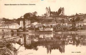Saint Germain de Confolens Bords de la Vienne Chateau Ruines Saint Germain de Confolens