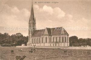 Saint Aubin sur Mer_Calvados Eglise Saint Aubin sur Mer