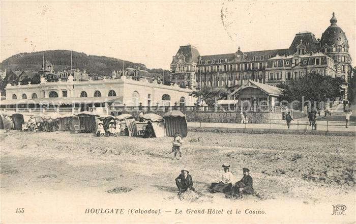 AK / Ansichtskarte Houlgate Le Grand Hotel et le Casino Houlgate
