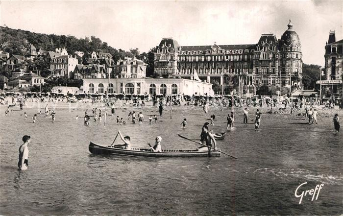 AK / Ansichtskarte Houlgate Le Casino et le Grand Hotel Houlgate