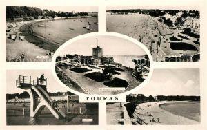 AK / Ansichtskarte Fouras_Charente Maritime Plage Semaphore Jardins Plage Piscine Fouras Charente Maritime