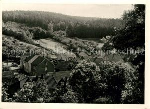 AK / Ansichtskarte Leinatal Schoenau Panorama Leinatal