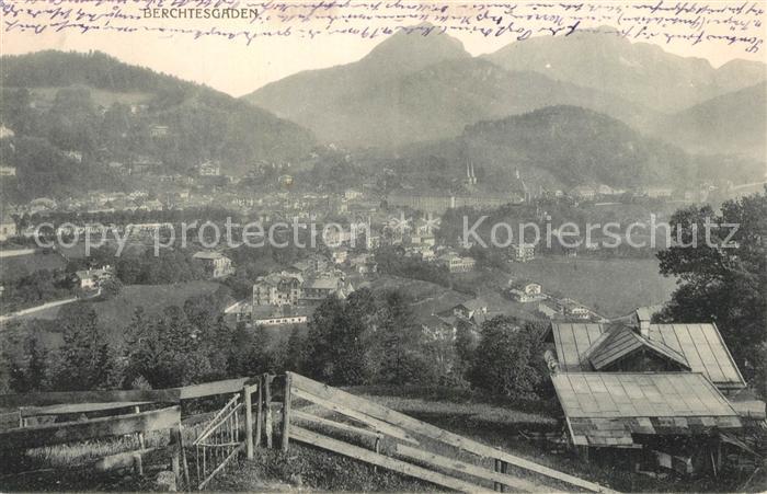 AK / Ansichtskarte Berchtesgaden Panorama Berchtesgaden