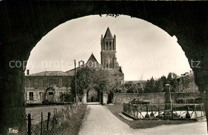 AK / Ansichtskarte Sablonceaux Abbaye Sablonceaux 0