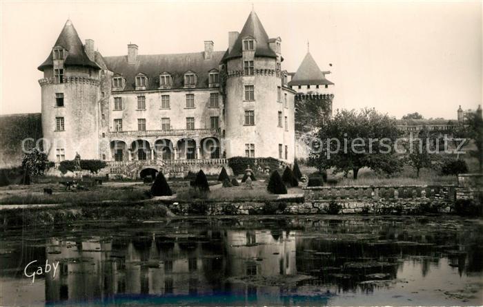 AK / Ansichtskarte Saint Porchaire Chateau de la Roche Courbon Saint Porchaire