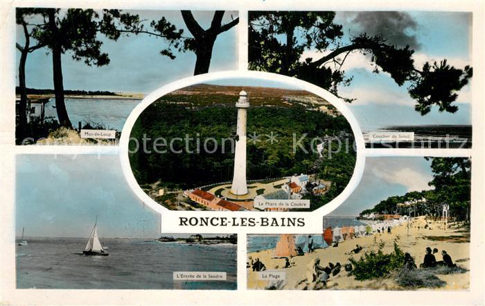 AK / Ansichtskarte Ronce_les_Bains Mus de Loup Coucher de Soleil Entree de la Seudre Phare Plage Ronce_les_Bains 0