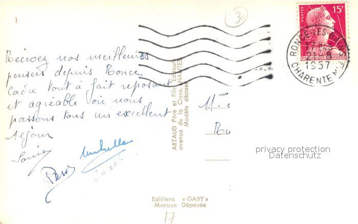 AK / Ansichtskarte Ronce_les_Bains Mus de Loup Coucher de Soleil Entree de la Seudre Phare Plage Ronce_les_Bains 1