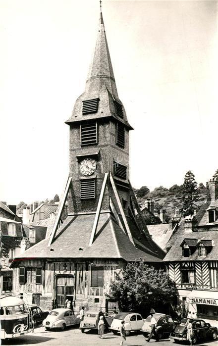 AK / Ansichtskarte Honfleur Clocher Eglise Sainte Catherine Honfleur