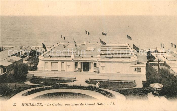 AK / Ansichtskarte Houlgate Casino vue prise du Grand Hotel Houlgate 0