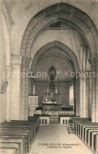 AK / Ansichtskarte Corme Ecluse Interieur de l Eglise Corme Ecluse