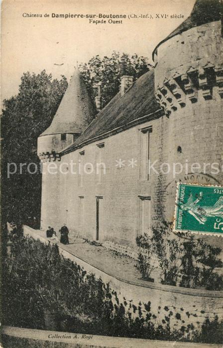 AK / Ansichtskarte Dampierre sur Boutonne Chateau facade ouest Dampierre sur Boutonne 0