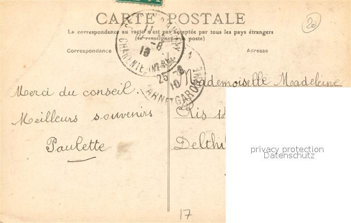 AK / Ansichtskarte Dampierre sur Boutonne Chateau facade ouest Dampierre sur Boutonne 1