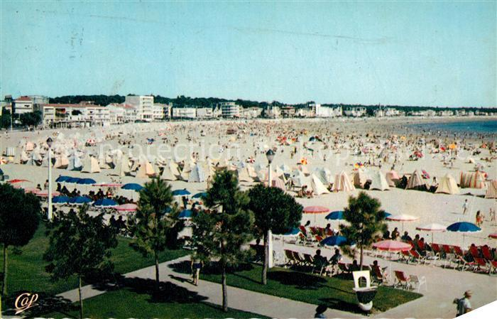 AK / Ansichtskarte Royan_Charente Maritime Panorama Plage Royan Charente Maritime