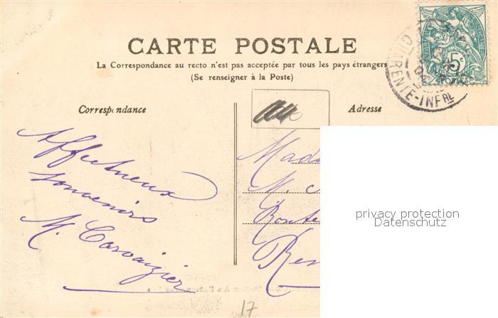 AK / Ansichtskarte La_Rochelle_Charente Maritime Station des Bateaux des Iles La_Rochelle 1